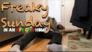 Video (Skit): Clifford Owusu – In An African Home: Freaky Sunday